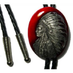 Indian Chif Bolo Tie. Code BT17